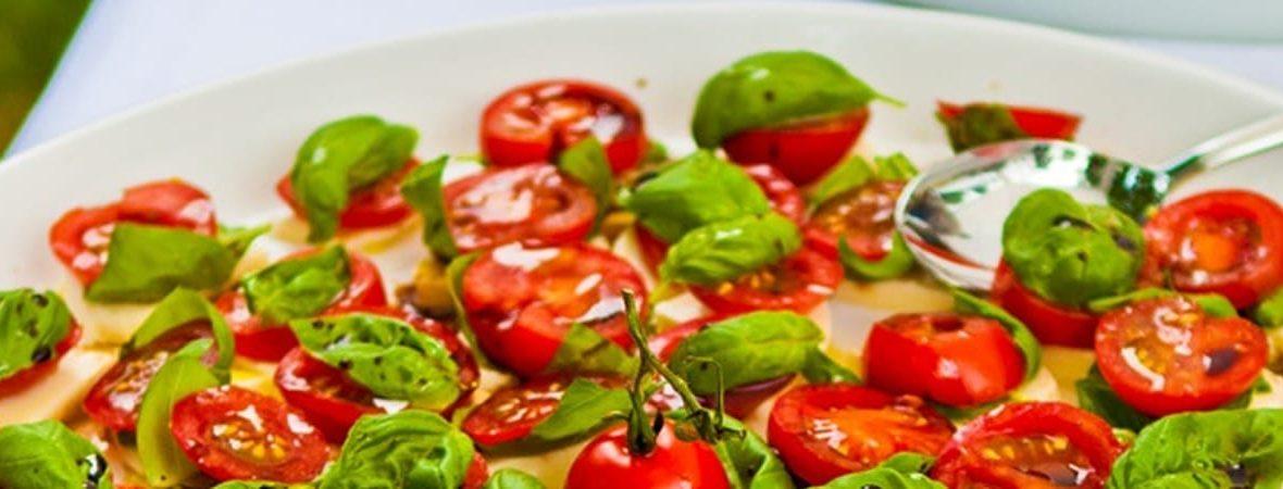 Tomate / Basilikum - Ernährungsberatung Ludwigsburg